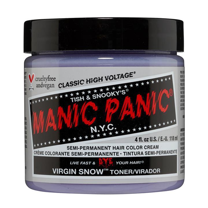 Image of Manic Panic Hair Color Virgin Snow White Toner 118ml