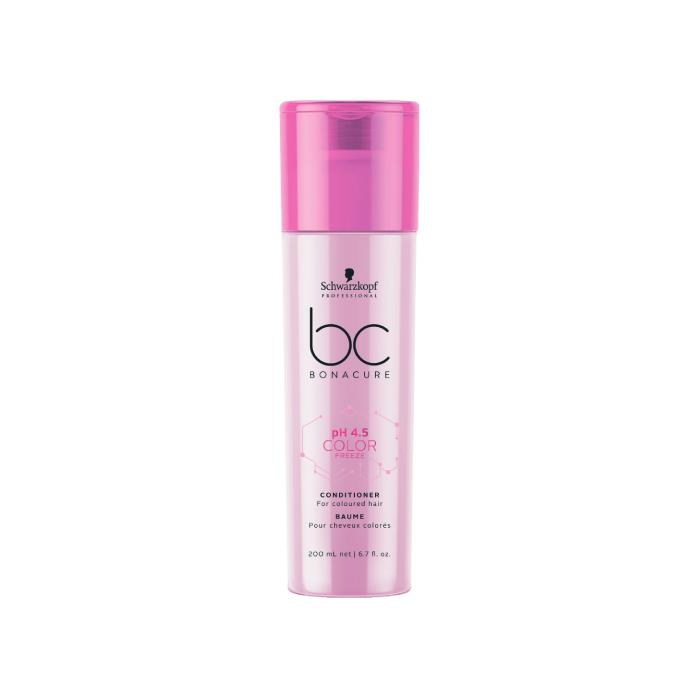 Image of Schwarzkopf BC BonaCure pH 4.5 Color Freeze Conditioner 200ml