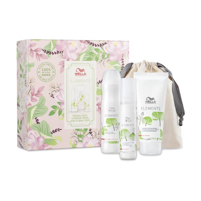 Image of Wella Elements Trio Pack