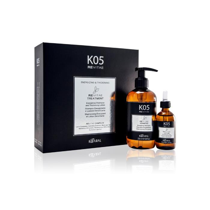 Image of Kaaral K05 Revitae Energizing Shampoo and Thickening Lotion Duo