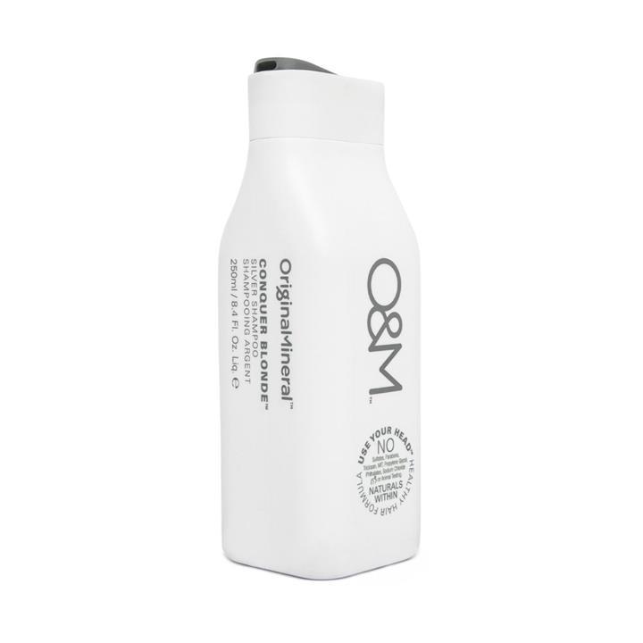 Image of O&M Conquer Blonde Shampoo 250ml
