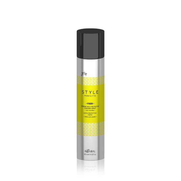 Image of Kaaral Style Perfetto Fixer Strong Hold Protective Finishing Spray 400ml