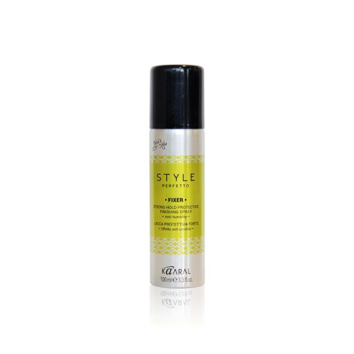Image of Kaaral Style Perfetto Fixer Strong Hold Protective Finishing Spray 100ml