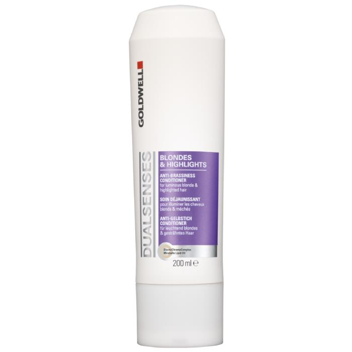 Image of Goldwell Dualsenses Blondes and Highlights Anti-brassiness Conditioner 300ml