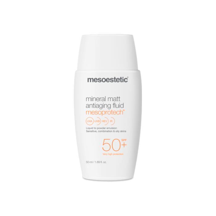 Image of Mesoestetic Mesoprotech Mineral Matt Anti-Aging Fluid 50ml