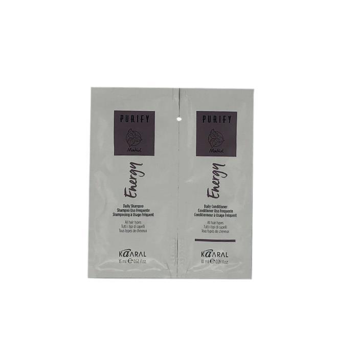 Image of Purify Energy Shampoo & Conditioner Sachet Duo