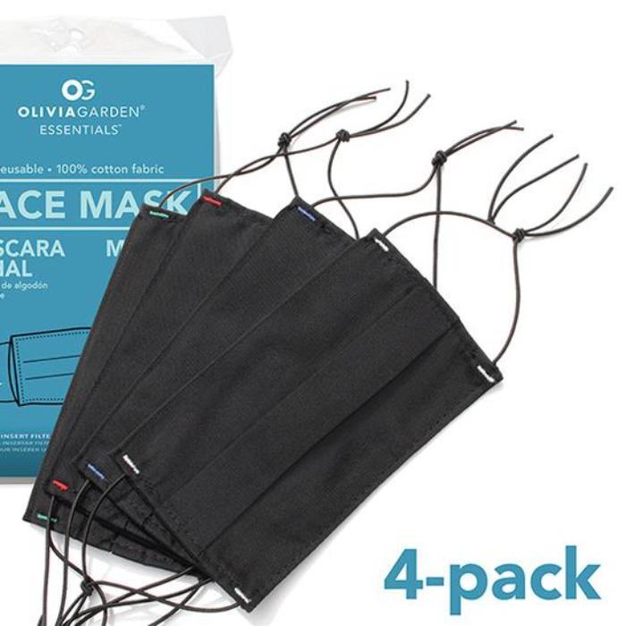 Image of Olivia Garden Reusable Face Mask 4pk
