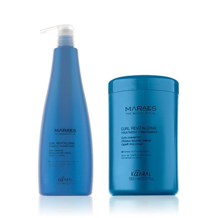 Image of Kaaral Maraes Curl Revitalizing Duo 1 Litre