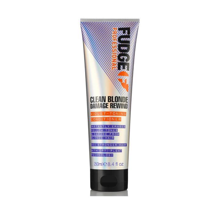 Image of Fudge Clean Blonde Damage Rewind Violet-Toning Conditioner 250ml