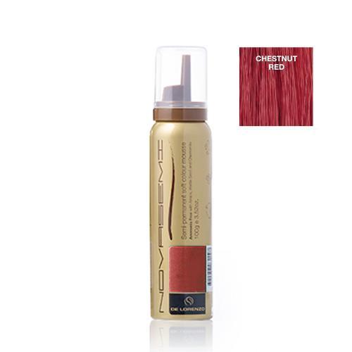 Image of De Lorenzo Novasemi Soft Colour Mousse Chestnut Red 100g