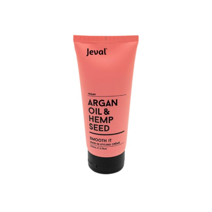 Image of Jeval Infusions Argan Oil & Hemp Seed Smooth It 200ml