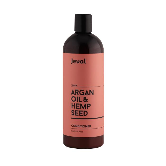 Image of Jeval Infusions Argan Oil & Hemp Seed Conditioner 1 Litre
