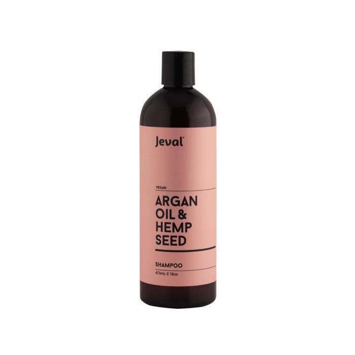 Image of Jeval Infusions Argan Oil & Hemp Seed Shampoo 473ml