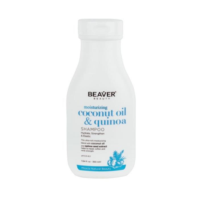 Image of Beaver Coconut Oil And Quinoa Moisturising Shampoo 350ml