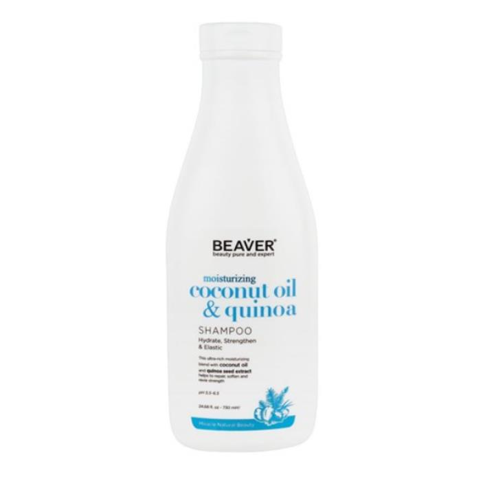 Image of Beaver Coconut Oil And Quinoa Moisturising Shampoo 730ml