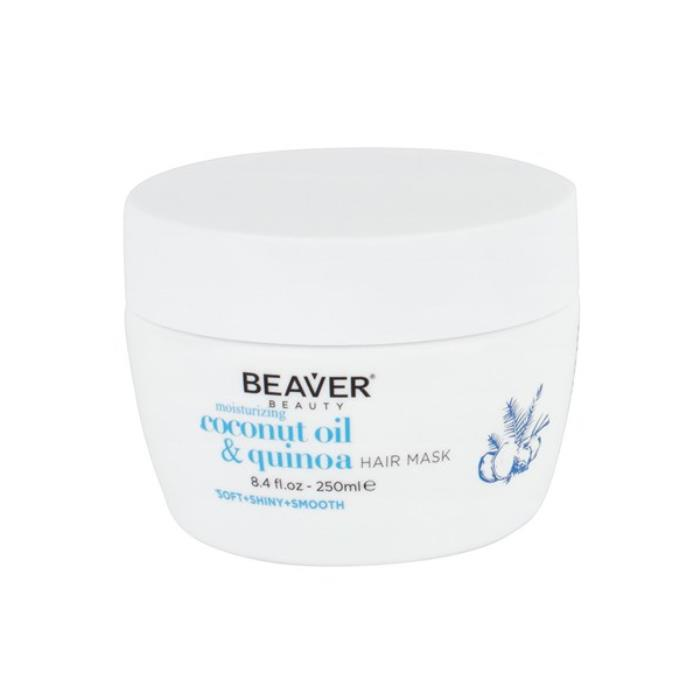Image of Beaver Coconut Oil And Quinoa Moisturising Hair Mask 250ml
