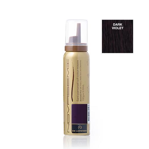 Image of De Lorenzo Novasemi Soft Colour Mousse Dark Violet 100g