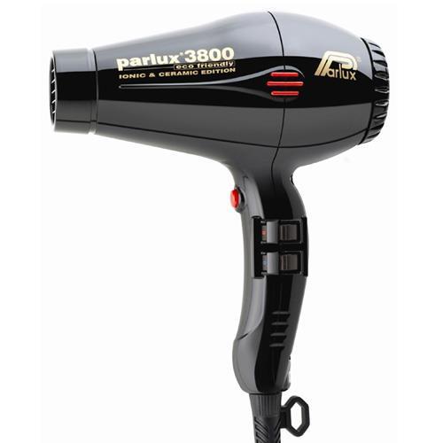 Image of Parlux 3800 Eco Friendly Ceramic & Ionic Dryer 2100W - Black