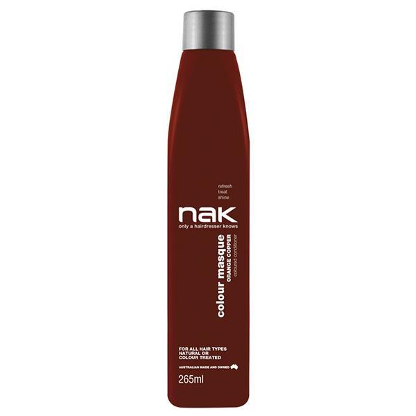 Image of Nak Colour Masque Coloured Conditioner - Orange Copper 265ml