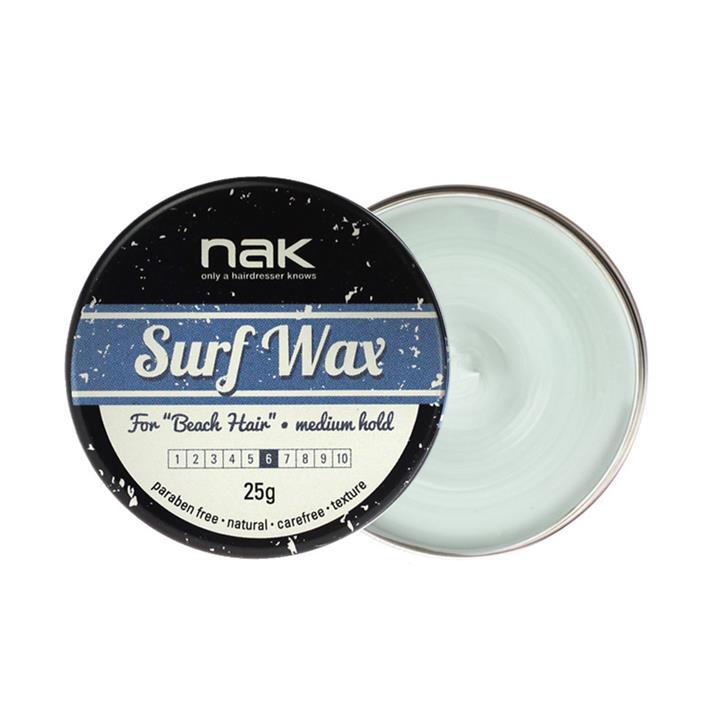 Image of Nak Surf Wax For Beach Hair 25g