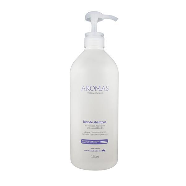 Image of Nak Aromas Blonde Shampoo with Argan Oil 1 Litre