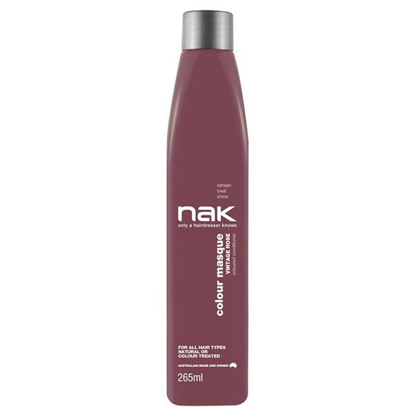 Image of Nak Colour Masque Coloured Conditioner - Vintage Rose 265ml