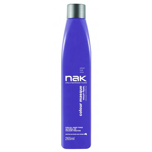 Image of Nak Colour Masque Coloured Conditioner - Violet Pearl 265ml