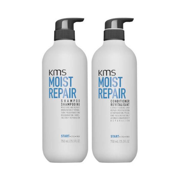 Image of KMS Moist Repair 750ml Duo