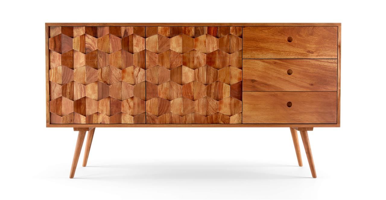 Thomas Sideboard Walnut Acacia