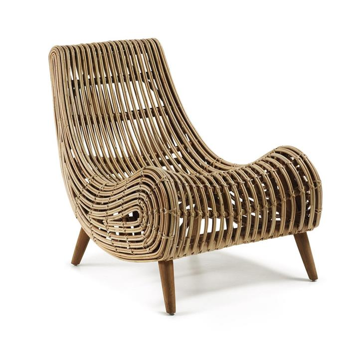 Akit Rattan Lounge Chair by Interior Secrets - AfterPay Available