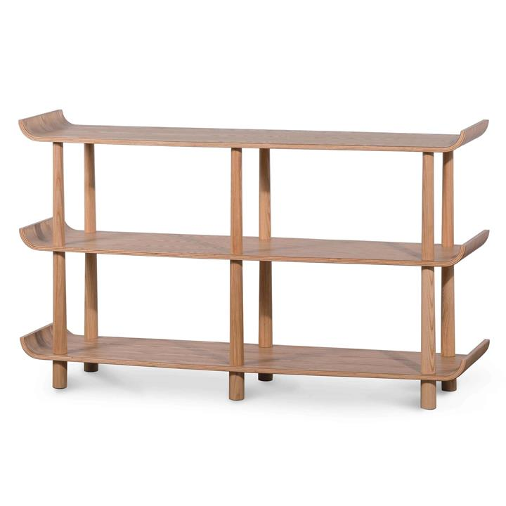Payton Wooden Shelving Unit - Natural by Interior Secrets - AfterPay Available