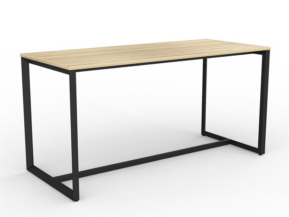 Anvil 2.1m Rectangular Bar Table - Black Frame by Interior Secrets - AfterPay Available