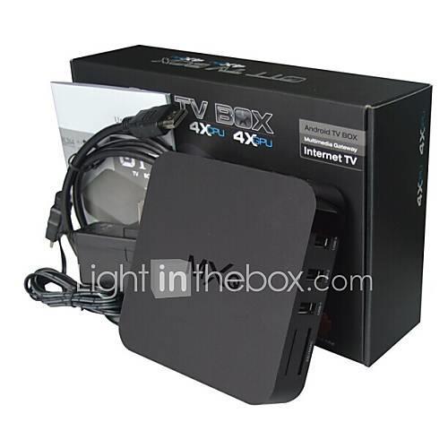 MXQ Android 4.0 TV Box Amlogic S805 1GB RAM 8GB ROM Quad Core