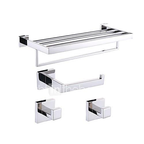 Bathroom Accessory Set / Stainless Steel Stainless Steel /Contemporary