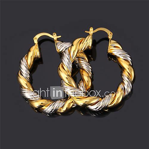 Women's - Gold Plated Vintage, Party, Work Gold / Silver / Screen Color For Daily