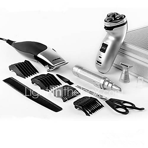 Electric Shaver Stainless Steel PRITECH Ergonomic Design Low Noise Lubricant Dispenser