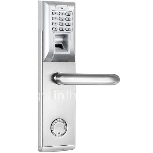 Stainless Steel  A Grade ABS Password Fingerprint Lock Smart Home Security System Home Villa Hotel Apartment Stainless Steel Door
