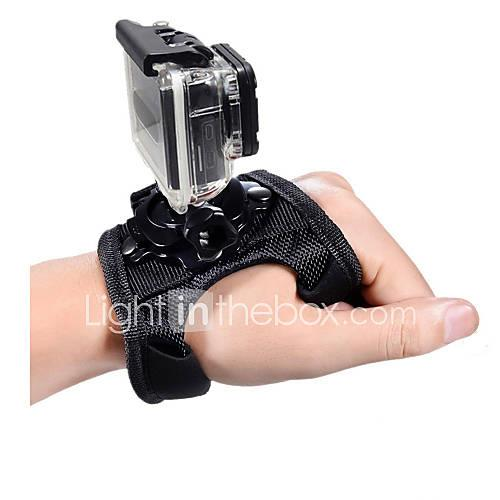 Wrist Strap / Hand Straps Adjustable / Convenient For Action Camera Gopro 5 / Gopro 4 / Gopro 4 Silver Plastic / Nylon - 1 pcs / Gopro 3 / Gopro 2 / Gopro 3 / Gopro 1