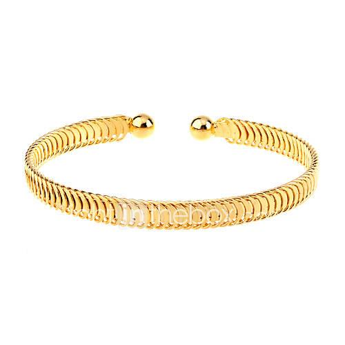 Women's Bracelet Bangles / Cuff Bracelet - Gold Plated Unique Design, Simple Style, Fashion Bracelet Golden For Christmas Gifts / Party / Daily