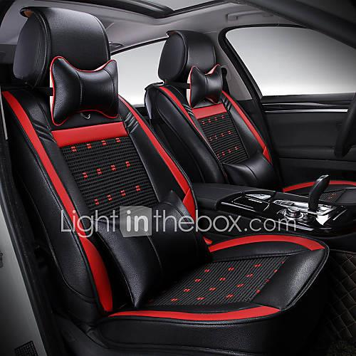 The New leather ice silk four seasons general car seat cushion car interior cushion seat cover