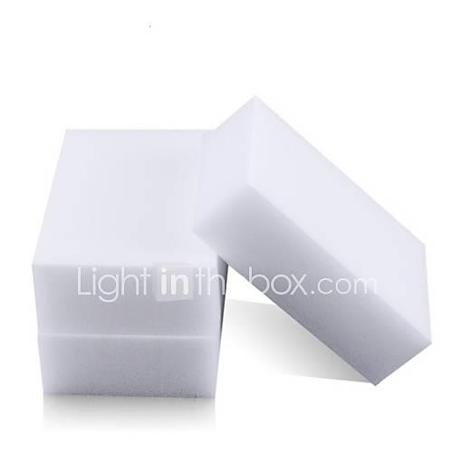 Melamine Sponge Magic Sponge Eraser Melamine Cleaner Eco-Friendly White Kitchen Magic Eraser