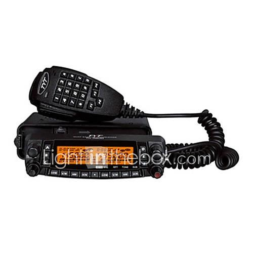 TH-9800 Quad Band Walkie Talkie Vehicle Mounted Anolog Low Battery Warning Emergency Alarm PC Software Programmable Voice Prompt VOX