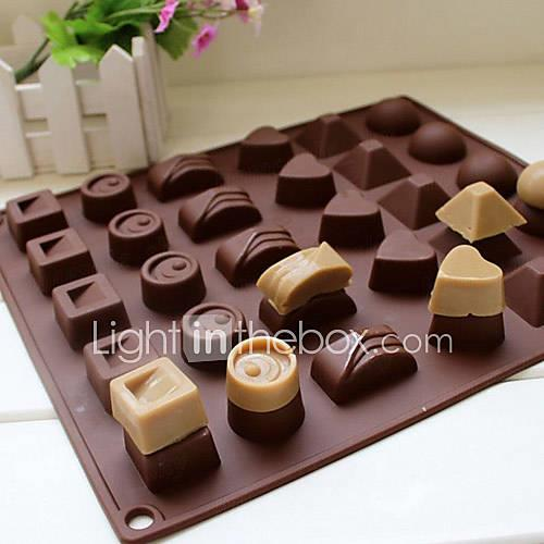 Bakeware tools Silicone Eco-friendly / 3D / DIY For Cake / For Chocolate / For Candy Mold 1pc