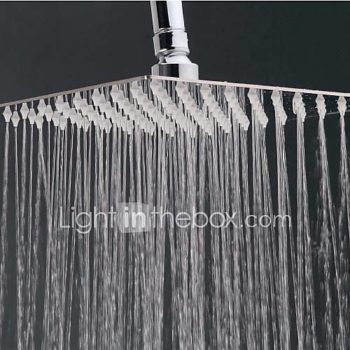 Contemporary Rain Shower Chrome Feature - Rainfall, Shower Head