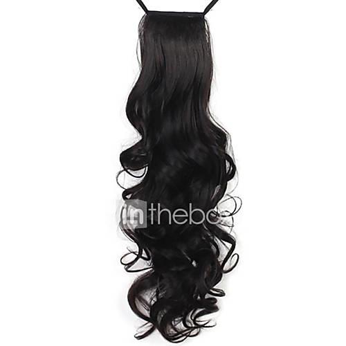 24 inch Hair Extension Curly Classic Daily High Quality Ponytails