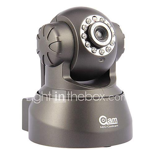 Image of 0.3 MP Indoor with Day Night Prime Day Night Motion Detection Remote Access Plug and play Wi-Fi Protected Setup) IP Camera