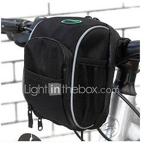 Image of 1.3 L Bike Handlebar Bag Waterproof Rain Waterproof Quick Dry Bike Bag Terylene Nylon Oxford Bicycle Bag Cycle Bag - Cycling / Bike