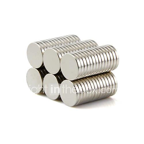 50 pcs 101.5mm Magnet Toy Building Blocks Super Strong Rare-Earth Magnets Neodymium Magnet Magnet Kid's / Adults' Boys' Girls' Toy Gift