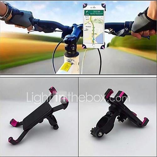 Bike Phone Mount Portable Recreational Cycling / Cycling / Bike / Women's ABS Black / Pink - 1 pcs