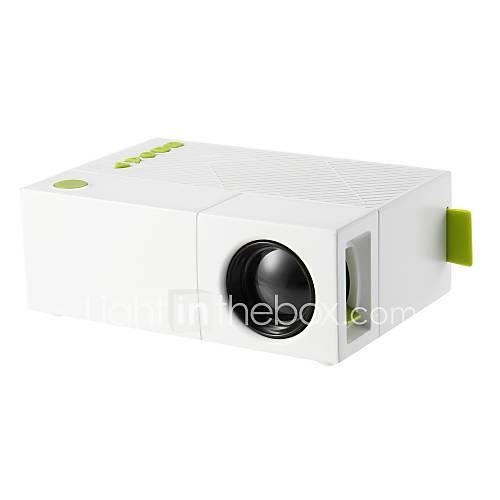 YG310 LCD Mini Projector LED Projector 500 lm Other OS Support 1080P (1920x1080) 20-80 inch Screen / QVGA (320x240)